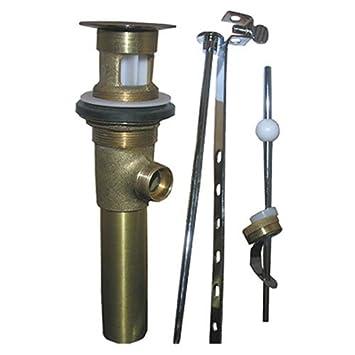 Lasco 03 4621 1 1 4 Inch Chrome Plated Brass Lavatory Pop