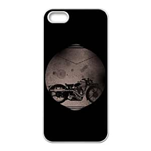 Motorbike iPhone 4 4s Cell Phone Case White xlb-235394
