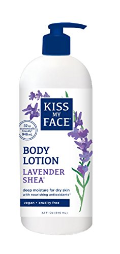 Kiss My Face Body Lotion, Lavender Shea, 32 - Face My Butter Moisturizer Kiss