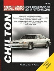 (Chilton Bonneville/Eighty Eight/Lesabre 1986-1999 Repair Manual (28200))