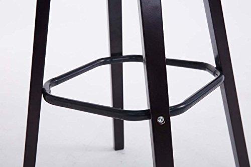 Clp sgabello bar avika in similpelle super imbottito sedia alta da