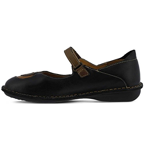Cosmic Jane Multi Mary Step Black Spring Flat Women's pgqTznwRF