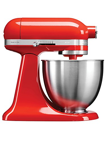 KitchenAid Artisan Mini 5KSM3311XBHT 3.3-Litre Stand Mixer (Hot Sauce)