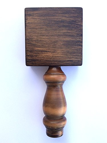 Proper Pour Square Wood Beer Tap Handle Display With
