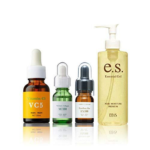 エビス化粧品(EBiS)原液フルケアセット(ミニ) MC10010mlEX10010ml Cエッセンス20ml 美顔器ジェル105g   B00BP3T5J8