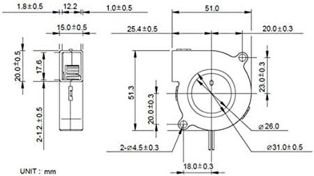 Compra Kongqiabona 1 unids Mini Ventilador de Enfriamiento 3D ...