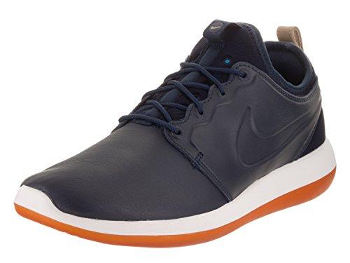 Nike - Zapatillas de Piel para niño azul turquesa