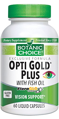 Botanic Choice Opti Gold With Fish Oil Nutritional Supplement, 60 Liquid Tablets Oil 60 Tablets