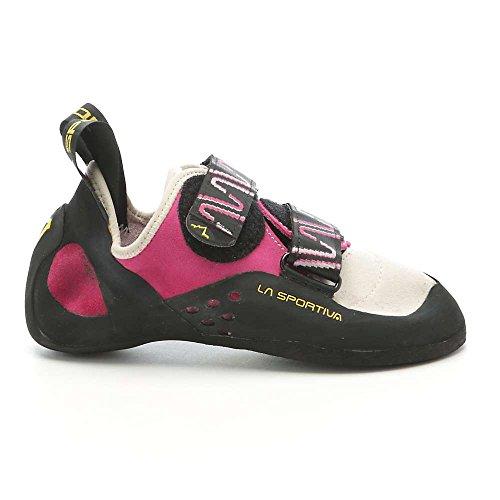 La Sportiva Katana Climbing Shoe - Women's Pink/White 37.5 by La Sportiva