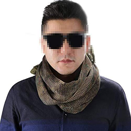 YAOBAO Filet De Camouflage, Filet Tactique en Maille Écharpe Camo Écharpe Sniper Voile Écharpe, Filet pour Les Grands… 7