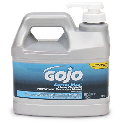Nice GOJO SUPRO MAX Hand Cleaner - 1/2 Gallon with Pump Dispenser hot sale