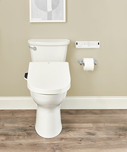 INAX 8012A70GRC-415 Heated Shower Toilet Bidet Seat with Remote Control + Dual Nozzle, White by INAX (Image #9)