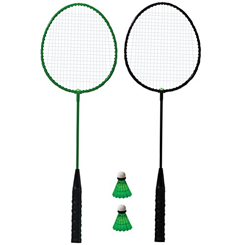 - Franklin Sports 2 Player Badminton LED Rackets