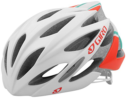 Giro-Sonnet-Bike-Helmet-Womens-Matte-WhiteTurquoiseVermillion-Small