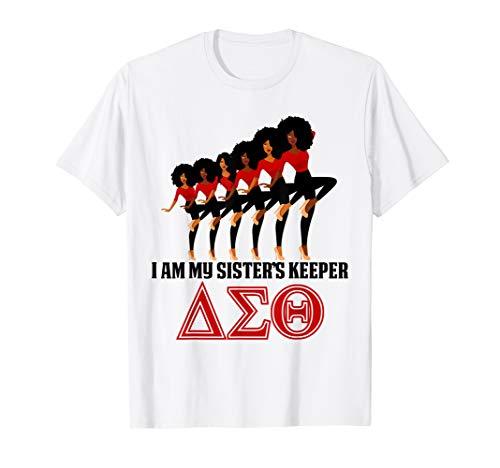 Delta-Sigma-Theta Sorority I'm My Sister's Keeper HBCU T-Shirt