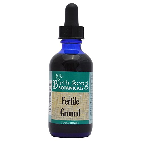 s Fertile Ground Best Fertility Liquid Tincture with Top Herbal Blend, 2 oz. (Products Herbal Expectorant)