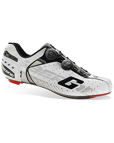 Gaerne Carbon Speedplay G.Chrono Scarpe Road Ciclismo, White - 44