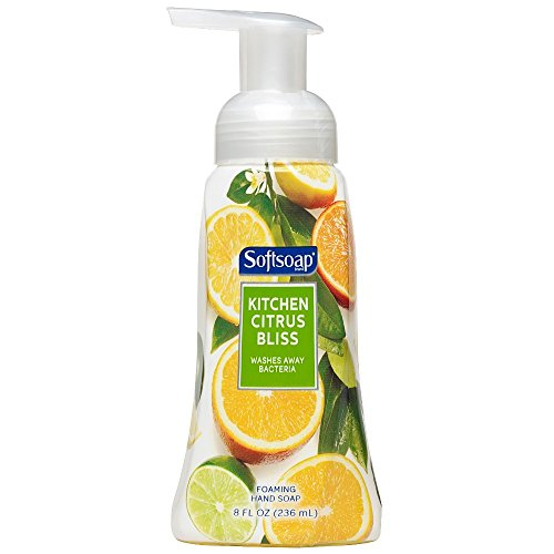 Softsoap Fragrance Collection Foaming Hand Soap Kitchen Citrus Bliss - 8 oz, Pack of - Softsoap Foaming
