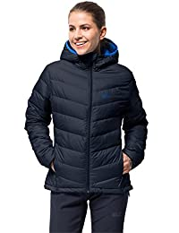 Jack Wolfskin Women's Helium Women Lightweight Windproof Down Puffer Jacket