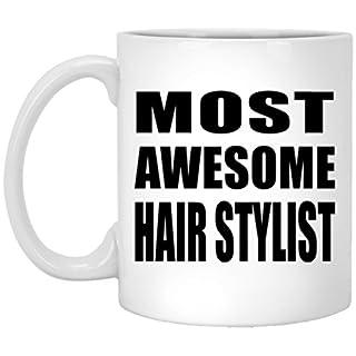 designsify most awesome hair stylist 11 oz coffee mug ceramic drinking tea cup best