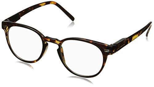 Peepers Men's Kennedy Bifocal 2291150 Round Reading Glasses, Tortoise, - Glasses Round Bifocal