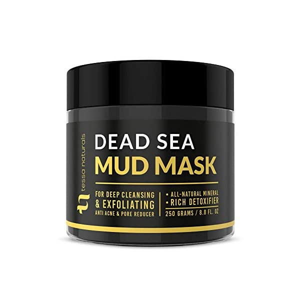 Dead-Sea-Mud-Mask-Enhanced-with-Collagen-Reduces-Blackheads-Pores-Acne-Oily-Skin-Visibly-Healthier-Face-Body-Complexion-All-Natural-Anti-Aging-Formula-for-Women-Men