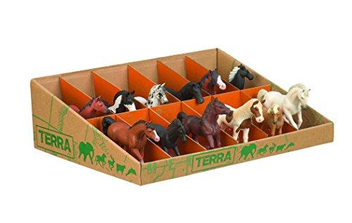 Battat Terra AN6056GTZ Horse Figures (12-Piece)
