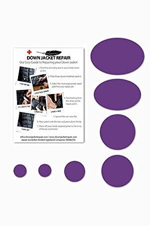 Abajo chaqueta Kit de parche de reparación (autoadhesivo), color ...
