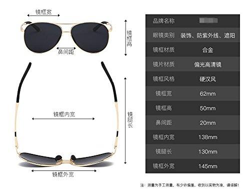 Glace de soleil du Lennon B de retro inspirées polarisées Bleue métallique rond style cercle vintage en Tablettes lunettes Zdw5qCZ