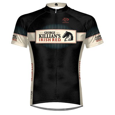 Primal Wear 2012 Men's Killians Irish Red Short Sleeve Cycling Jersey - COKIJ20M (Killians Irish Red - S)