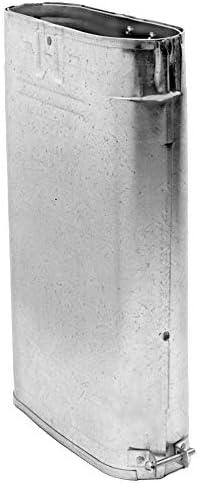 DuraVent 4GW12A 4 de diámetro interiorVentilación de gas ovalada tipo BPared doble12 Adj Aluminio