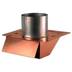 4 Quot Copper Under Eave Amp Soffit Dryer Exhaust Vent With