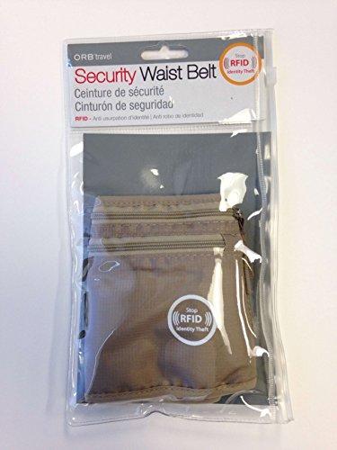 ORB Travel-MB225-RFID Blockierung Sicherheit Geldgürtel