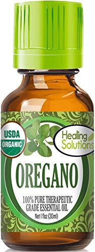 Organic Oregano Essential Oil (100% Pure - USDA Certified Organic) Best Therapeutic Grade Essential Oil - 30ml