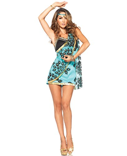 Leg Avenue 85487 Sari Siren Halloween Costume - Teal - Small