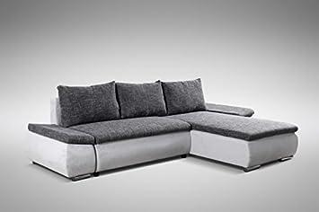 Schlafsofa Sofa Couch Ecksofa Eckcouch Schlaffunktion Baku Lr