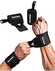 GORNATION® Power Wrist Wraps voor maximale stabiliteit & betere prestaties - Perfect voor krachttraining, bodybuilding, crossfit en calisthenics - voor mannen & vrouwen