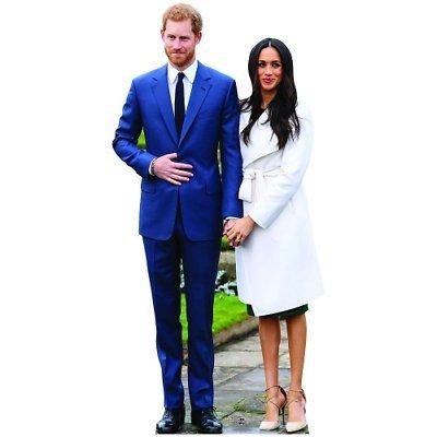 Prince Harry and Meghan Markle Life Size Cardboard Cutout Standup SC1115