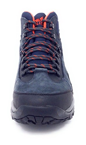 Lico - Zapatillas de senderismo de ante para niño Anthrazit (Anthrazit/Orange)