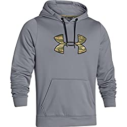 Under Armour Rival Hoodie - Men's Steel Black Xl