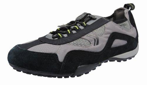 Geox U4207E - Zapatillas de Deporte Hombre negro - gris y negro