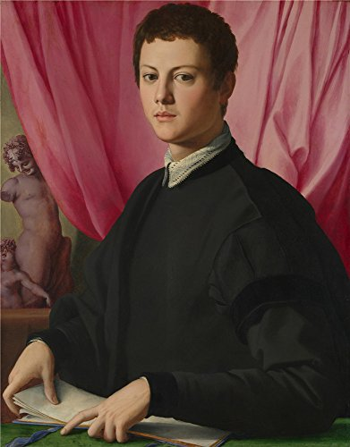 Oil Painting 'Bronzino,Portrait Of A Young Man,1550-1555', 20 x 26 inch / 51 x 65 cm , on High Definition HD canvas prints is for Gifts And Foyer, Home Office - Oasis Coupon Sunglass