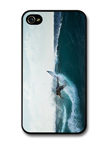 Surfer Waves Surfboard Beach Holiday Extreme Sport Photography case for iPhone 4 4S