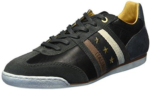 Pantofola d'Oro Imola Uomo Low, Sneaker Basse Uomo Nero (25y)