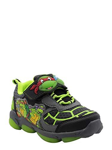 (Teenage Mutant Ninja Turtles Toddler Boys' Light Up Athletic Shoe)