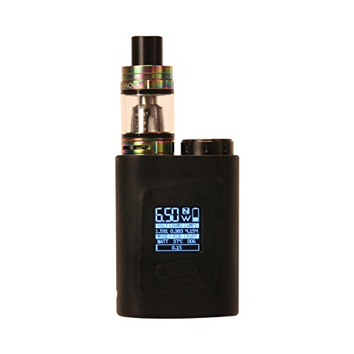 1 PCS Smok Alien Baby 85W Protective Gel Skin Case Cover Sleeve Wrap Fits 85 Watt Smoktech AL85,Black