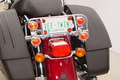 Chrome Dresser Light Bar with 4 Lights V-Twin 42-9985