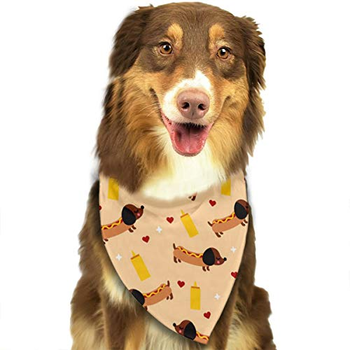 (FortniteCOM Dog Bandana Weiner Dog Triangle Bibs Scarf Printing Kerchief Set Accessories Dogs Cats)