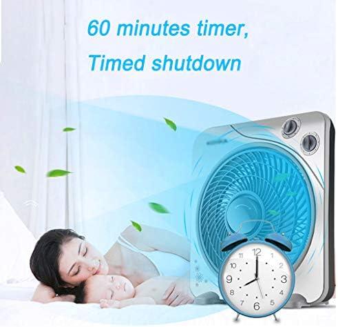 Pedestal Fans Ventilatore da Pavimento Portatile, Inclinazione Ventola di Raffreddamento Indipendente 3 velocità e Timer 60 Minuti, per Casa e Ufficio, Grigio