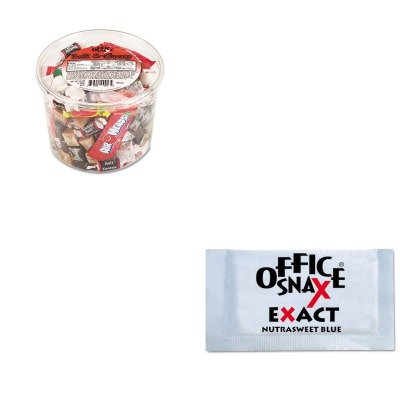 kitofx00013ofx00060-value-kit-office-snax-nutrasweet-blue-sweetener-ofx00060-and-office-snax-soft-am